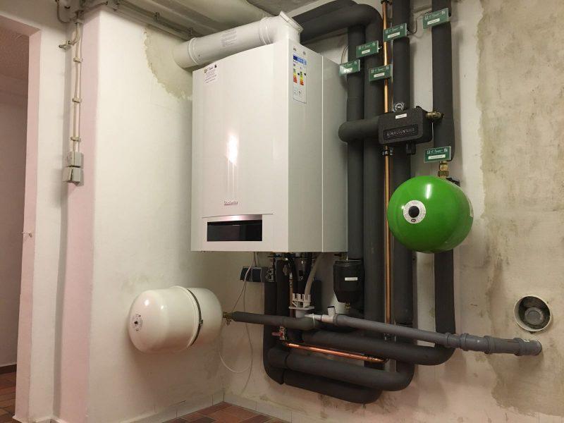 Gas–Brennwertkesselanlage