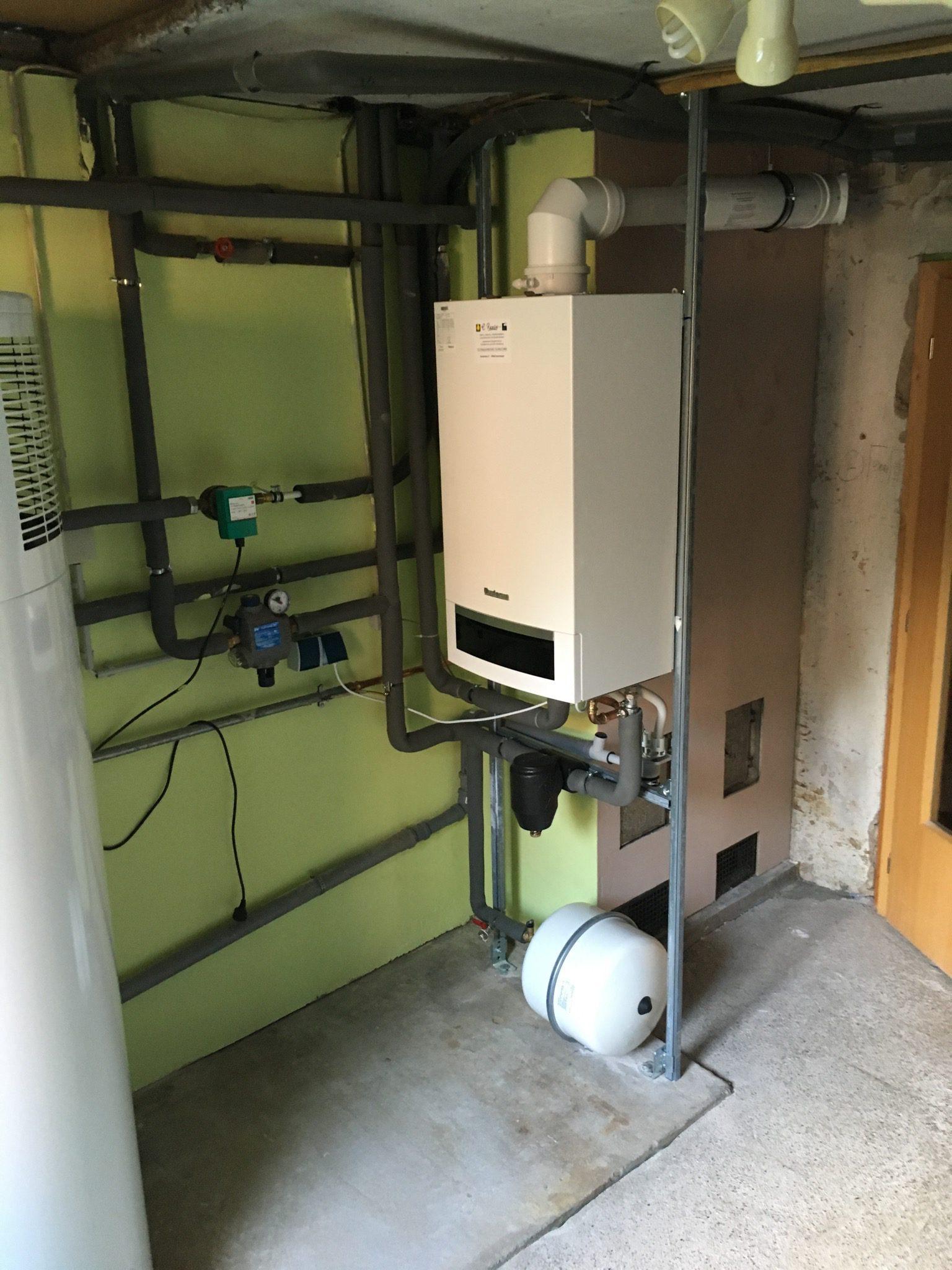 Sanierung Gas-Kesselanlage – C. Reese seit 1895